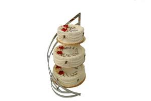 Tort 3 piętrowy