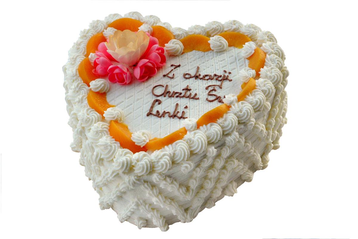Tort Śmietanowy Serce