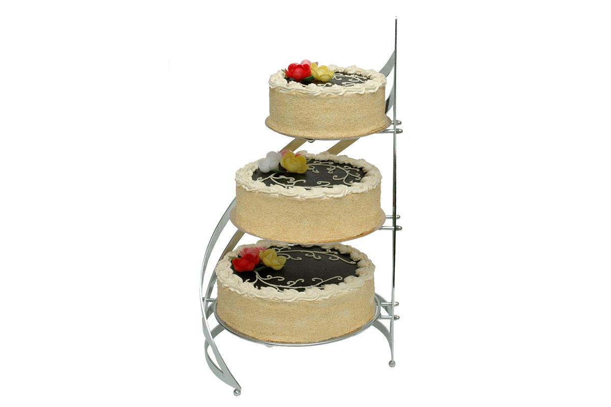 Tort Kremowy Piętrowy