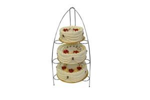 Tort Śmietanowy 3 Piętrowy