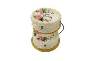 Tort Śmietanowy Piętrowy